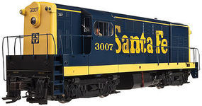 Atlas H16-44 No Decoder ATSF #3017 HO Scale Model Train Diesel Locomotive #10001614