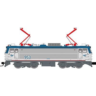 Atlas AEM-7/ALP-44 DCC Amtrak #953 -- HO Scale Model Train Electric Locomotive -- #10001674
