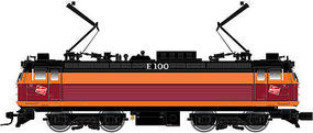 Atlas AEM-7/ALP-44 Milwaukee Road #E100 HO Scale Model Train Electric Locomotive #10001682