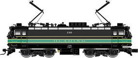 Atlas AEM-7/ALP-44 Reading #2302 HO Scale Model Train Electric Locomotive #10001686