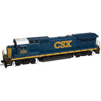 Atlas GE Dash 8-40B CSX #5975 (YN3, blue, yellow) HO Scale Model Train Diesel Locomotive #10001799