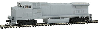 Atlas Dash 8-40BW DCC Undecorated Std -- HO Scale Model Train Diesel Locomotive -- #10001831