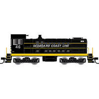 Atlas Alco S2 Seaboard Coast Line #42 black, yellow HO Scale Model Train Diesel Locomotive #10001922