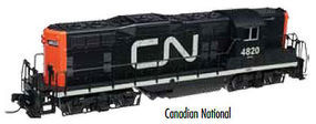 Atlas GP7 DC Canadian National #4820 HO Scale Model Train Diesel Locomotive #10002014