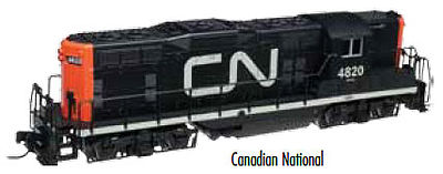 Atlas GP7 DCC/Sound Canadian National #4801 -- HO Scale Model Train Diesel Locomotive -- #10002038