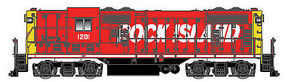 Atlas GP7 DCC/Sound Rock Island #1201 HO Scale Model Train Diesel Locomotive #10002044