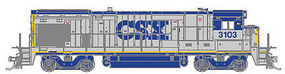 Atlas B23-7/B-30/7 DC CSX #3109 HO Scale Model Train Diesel Locomotive #10002055