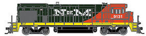 Atlas B23-7/B-30/7 DC Nacionales de Mexico 9131 HO Scale Model Train Diesel Locomotive #10002059