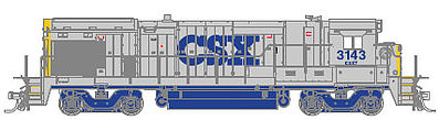 Atlas B23-7/B-30/7 DCC CSX 3143 -- HO Scale Model Train Diesel Locomotive -- #10002064