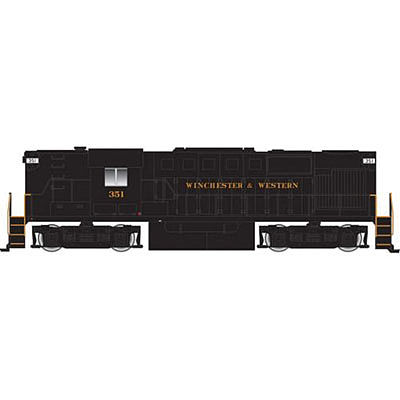 Atlas RS-11 DCC Winchester & Western #863 -- HO Scale Model Train Diesel Locomotive -- #10002163