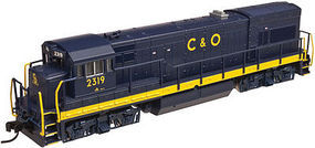 Atlas U23B DC Chesapeake & Ohio #2322 HO Scale Model Train Diesel Locomotive #10002169