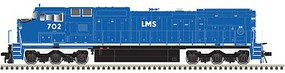 Atlas GE Dash 8-40CW (CR Style) w/LokSound & DCC - Master(R) Gold Lease Management Services LMS #713 (blue, white)