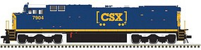 Atlas Ho DASH 8-40CW CSX 7904 W/sd
