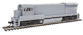 Atlas GE U33/36B Standard DC Master(R) Silver Undecorated (Late Phase, AAR-B Trucks)