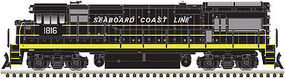Atlas GE U36B Seaboard Coast Line #1799 with sound HO Scale Model Train Diesel Locomotive #10002355