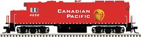 Atlas EMD GP40-2 - Standard DC - Master(R) Silver Canadian Pacific #4656
