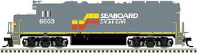 Atlas HO GP40-2 w/DCC & Sound, SBD #6603