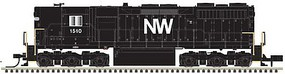 Atlas EMD SD35 High Nose - LokSound & DCC - Master(R) Gold Norfolk & Western 1502 (black, white, Large NW)