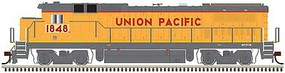 Atlas GE Dash 8-40B - Standard DC - Master(R) Silver Union Pacific 1848 (Armour Yellow, gray, red, yellow Frame Stripe)