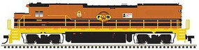 Atlas GE Dash 8-39B - LokSound and DCC - Master(R) Gold Providence & Worcester 3906 (G&W orange, black, yellow)