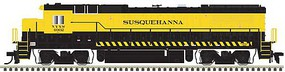 Atlas GE Dash 8-40B - LokSound and DCC - Master(R) Gold New York, Susquehanna & Western 4040 (yellow, black)