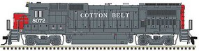 Atlas GE Dash 8-40B - LokSound and DCC - Master(R) Gold Cotton Belt SSW 8072 (gray, red)