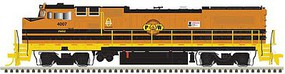 Atlas GE Dash 8-40BW - LokSound and DCC - Master(R) Gold Providence & Worcester 4007 (G&W orange, black, yellow)