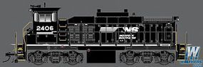 Atlas MP15DC Norfolk Southern #2406 with Sound HO Scale Model Train Diesel Locomotive #10011052
