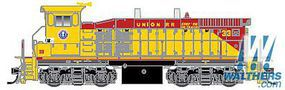 Atlas MP15DC Union RR #33 with Sound HO Scale Model Train Diesel Locomotive #10011061