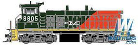 Atlas MP15DC Nationales de Mexico #8837 with Sound HO Scale Model Train Diesel Locomotive #10011064