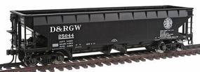 Atlas 70-Ton Hart Ballast Car Denver & Rio Grande Western HO Scale Model Train Freight Car #1170