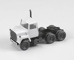 Atlas American Trucks - Ford(R) 1984 9000 LNT 3-Axle Conventional Semi Tractor Undecorated - HO-Scale