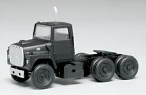 Atlas American Trucks - Ford(R) 1984 9000 LNT 3-Axle Conventional Semi Tractor Black - HO-Scale