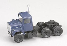 Atlas American Trucks - Ford(R) 1984 9000 LNT 3-Axle Conventional Semi Tractor Dark Blue - HO-Scale