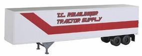 Atlas 45 Pines Semi Trailer TC Reimlinger Tractor Supply HO Scale Model Railroad Vehicle #12231