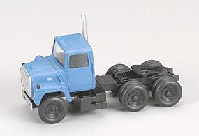Atlas American Trucks - Ford(R) 1984 9000 LNT 3-Axle Conventional Semi Tractor Medium Blue - HO-Scale