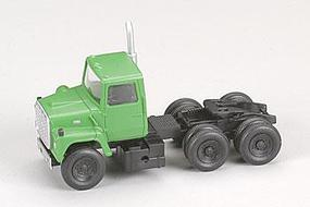 Atlas American Trucks - Ford(R) 1984 9000 LNT 3-Axle Conventional Semi Tractor Green - HO-Scale