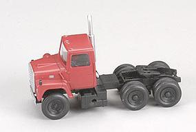 Atlas American Trucks - Ford(R) 1984 9000 LNT 3-Axle Conventional Semi Tractor Red - HO-Scale