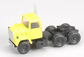 Atlas American Trucks - Ford(R) 1984 9000 LNT 3-Axle Conventional Semi Tractor Yellow - HO-Scale