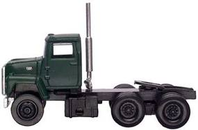 Atlas American Truck 1984 Ford(R) 9000 LNT 3-Axle Conventional Semi Tractor Dark Green - HO-Scale