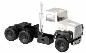 Atlas American Truck 1984 Ford(R) 9000 LNT 3-Axle Conventional Semi Tractor White, Black - HO-Scale