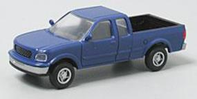 Atlas American Truck Ford F-150 Pickup Truck w/Standard Sides Moonlight Blue - HO-Scale