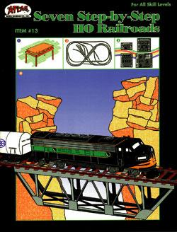 Atlas Seven Step-By-Step HO Railroads