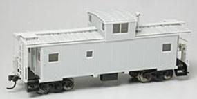 Atlas Standard Cupola Caboose Undecorated HO Scale Model Train Freight Car #1300