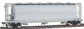 Atlas ACF(R) 6-Bay Cylindrical Hopper Undecorated HO Scale Model Train Feight Car #1930