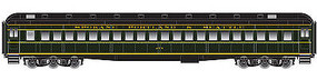 Atlas Heavyweight Single-Window Coach SP&S HO Scale Model Train Passenger Car #20001708