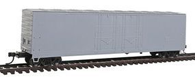 Atlas Evans 53 Double Plug-Door Boxcar Undecorated HO Scale Model Train Freight Car #20002449