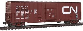 Atlas NCS 50 Plug-Door Boxcar Canadian National 413025 HO Scale Model Train Freight Car #20002679