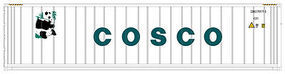Atlas 40 Reefer Container 3-Pack Cosco Set #2 HO Scale Model Train Freight Car #20002690