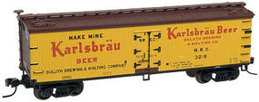 Atlas 40 Wood Reefer Karlsbrau Beer NRC #3215 HO Scale Model Train Freight Car #20002717